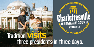 Charlottesville Visitor's Bureau Banner